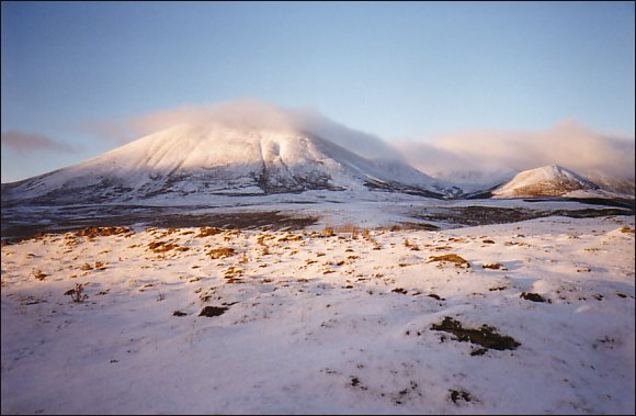 The Beinn a' Gloe group in winter