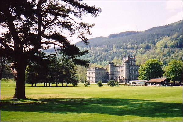 Taymouth Castle in Highland Perthshire.